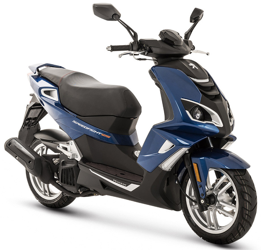 Peugeot Speedfight 4 125i Deep ocean blue