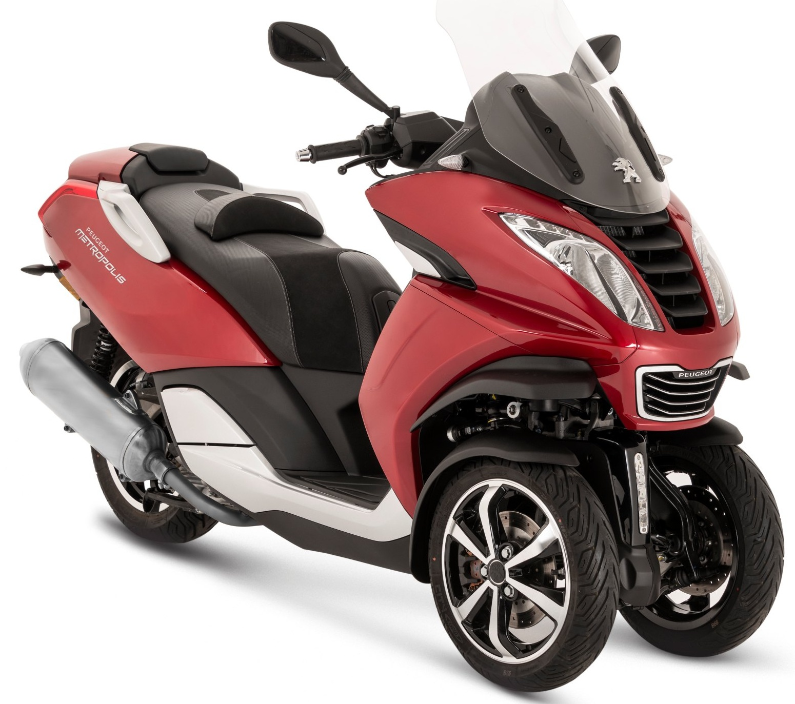 Peugeot Metropolis 400i Allure ABS Red ultimate