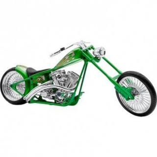Model Custom Bike Green