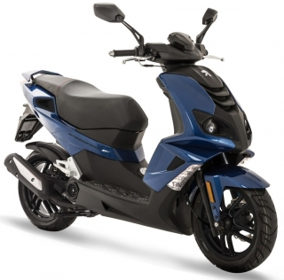 Peugeot Speedfight 4 50i 2T Deep ocean blue