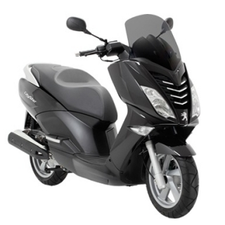 Peugeot Citystar 125i Active SBC Pearly black