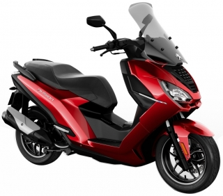 Peugeot Pulsion 125i Allure ABS Red ultimate