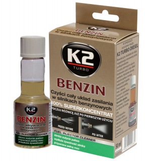K2 Benzin Aditivum do paliva 50ml